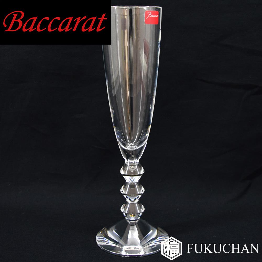 【Baccarat/バカラ】ベガ シャンパンフルート シャンパングラス 1客 1365109 【中古】