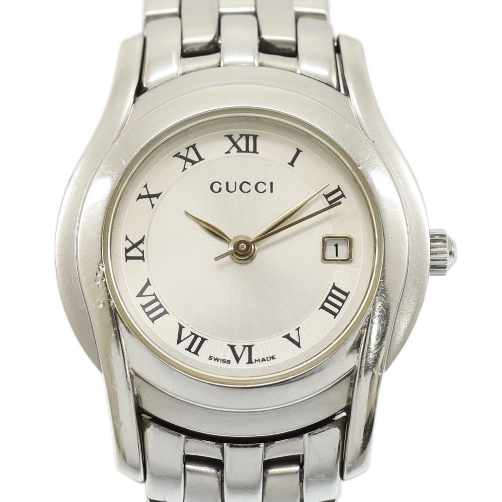 ◆14800円 → 12000円◆GUCCI グッチ 5500L レディースウォッチ SS×QZ 腕時計 5500L レディース【中古】