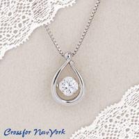 【送料無料】クロスフォー ニューヨーク ペンダント Fairy Drop NYP-602 (妖精の涙が胸元で踊る) 4560381901526