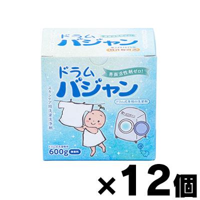 【送料無料】 界面活性剤ゼロ洗剤 バジャン・ドラム用600g×12個(お取り寄せ品) 4582127411083*12