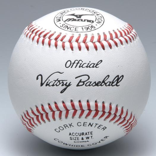 MIZUNO ミズノ 硬式野球ボール ビクトリー 高校試合球 (1ダース12球入り) 1BJBH10100【02P03Dec16】