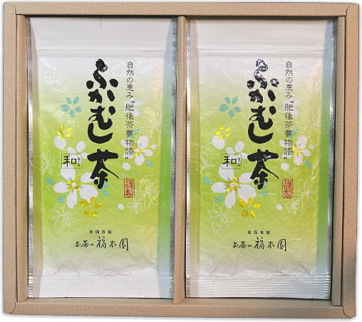 深蒸し茶平袋入りセット ふかむし茶 ~和~ おすすめ 2本詰セット 激安通販専門店 八十八夜摘