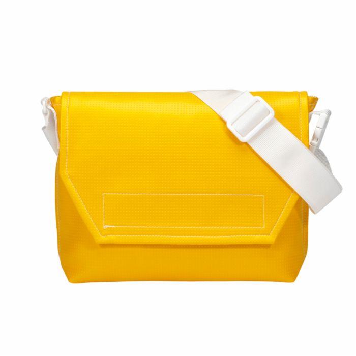 メッセンジャーバッグ黄 MESSENGER BAG _yellow 003