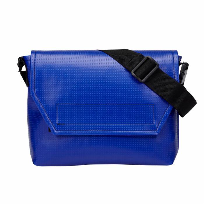 メッセンジャーバッグ青 MESSENGER BAG _blue 003