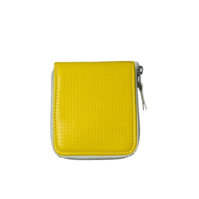 ハーフサイフ黄 HALF WALLET _yellow 026