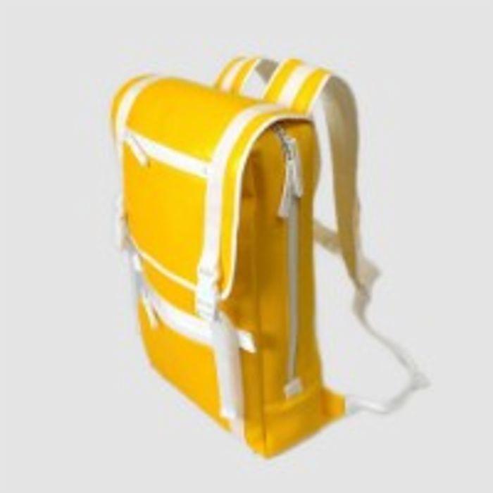 バックパック黄 BACKPACK _yellow 031