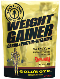 ゴールドジム ウエイトゲイナー 3kg チョコレート風味 GOLD'S GYM