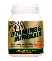 《送料無料》ゴールドジム【マルチビタミン&ミネラル360粒】《2個セット/サプリ》GOLD'S GYM