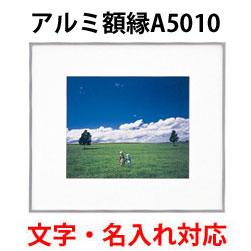 ワイドマットフレームA5010デジタルA3ノビ名入れ・高級フォトフレームpicture frame Photo frame 相框 (アクリル板)シルバーフジカラー/FUJICOLOR