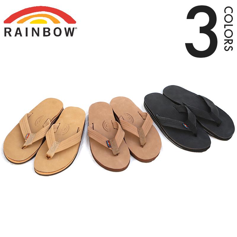 Rainbow Sandals/レインボーサンダル プレミアレザーサンダル ダブルミッドソール