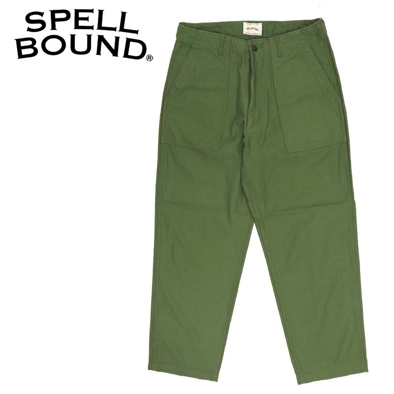 SPELLBOUND/スペルバウンド バックサテン ルーズ ベーカーパンツ 43-733T