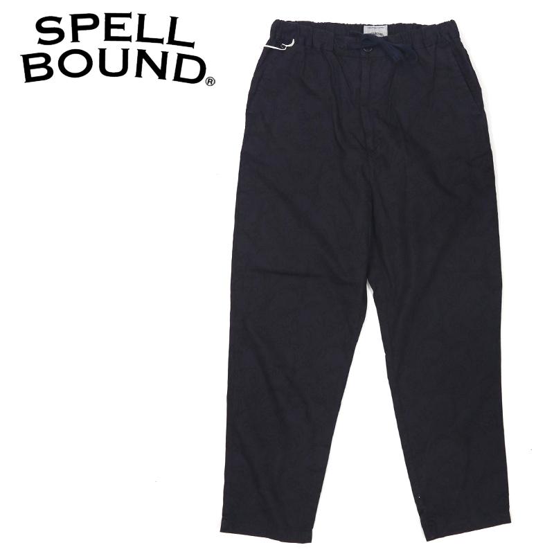 SPELLBOUND/スペルバウンド ペイズリー柄イージーパンツ 43-788X