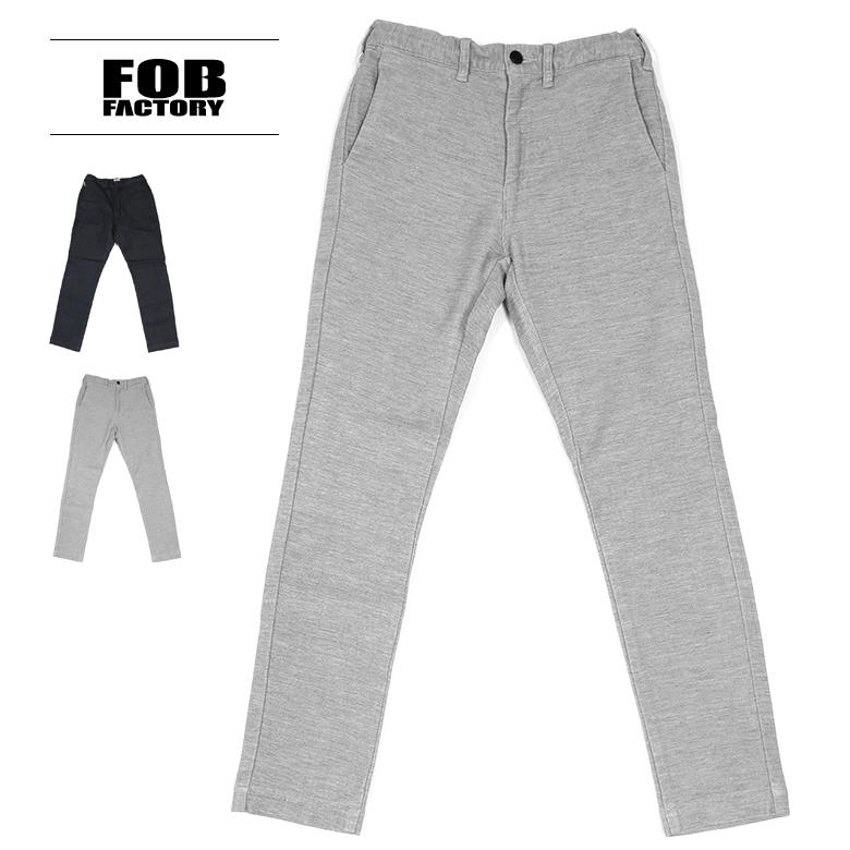 FOB FACTORY(FOBファクトリー) リラックスナローイージーパンツ F0438