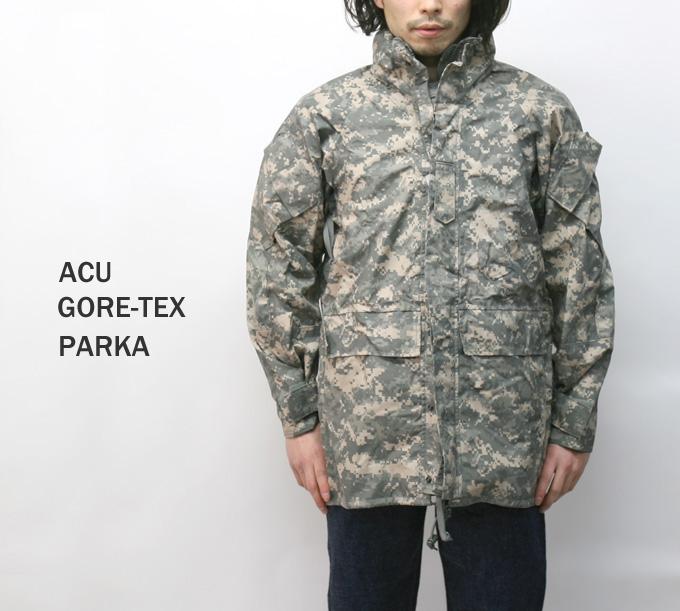 送料無料 米軍 ゴアテックスパーカー ECWCS 2nd Gen ACU