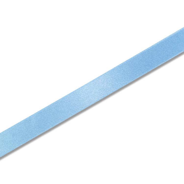 プレゼント包装 ハンドメイドに ギフトラッピング用 シングルサテン 好評受付中 リボン 1巻入 x20m巻 サックス 18mm 期間限定特価品