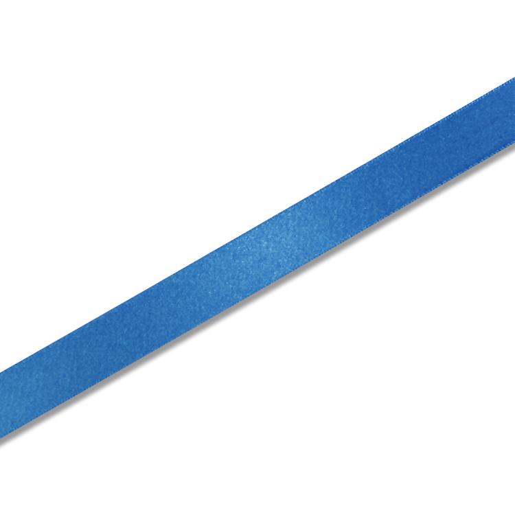 プレゼント包装 開店祝い ハンドメイドに ギフトラッピング用 売店 シングルサテン リボン 18mm 1巻入 Rブルー x20m巻