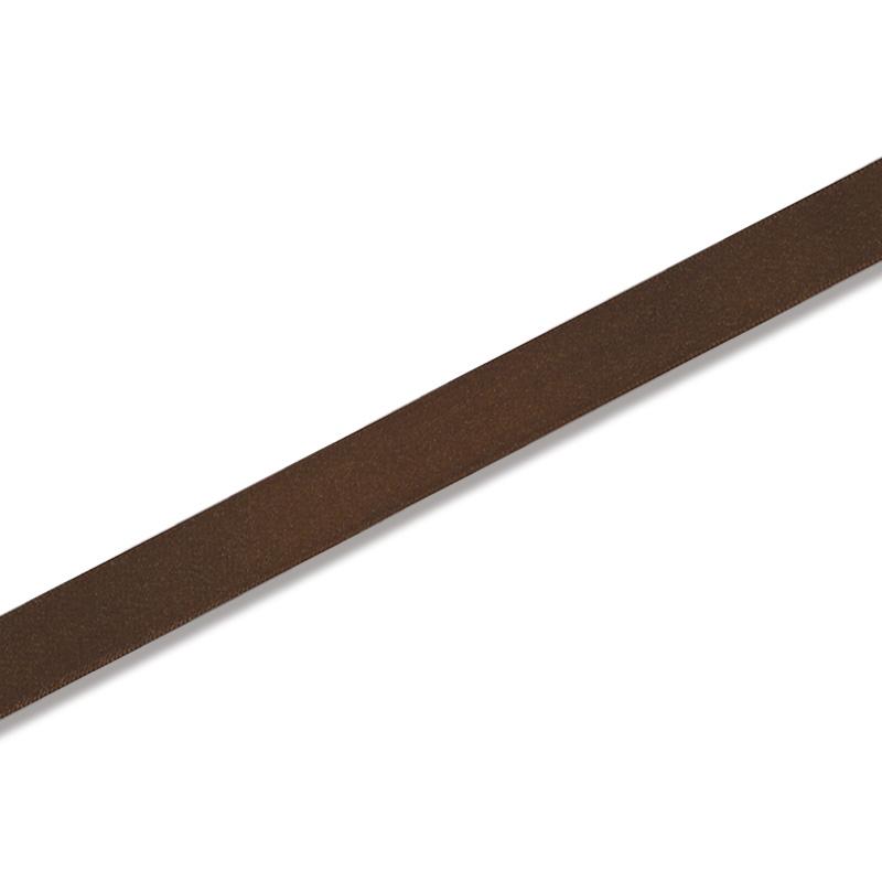 ランキングTOP10 プレゼント包装 ハンドメイドに ギフトラッピング用 全品送料無料 シングルサテン リボン コゲチャ 1巻入 18mm x20m巻