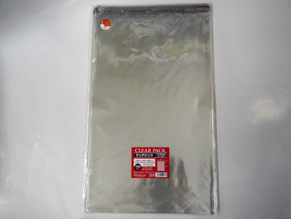 透明性が高く ツヤがありパリパリとしたOPP袋です フタ部分にテープがついていますので 簡単に封ができます 透明袋 クリアパック OPP袋 流行のアイテム 100×10p 1000枚入 30ミクロン 高級な 送料無料 PP業務用 テープ付き33×53