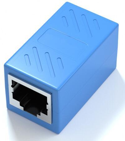 RJ45 LANケーブル用中継コネクタ 延長 メス-メス LANケーブル 延長コネクタ 直営店 ギガビット 対応 LY-19A01 8P8C 2個セット アダプタ 日本限定 コネクタ コンパクト