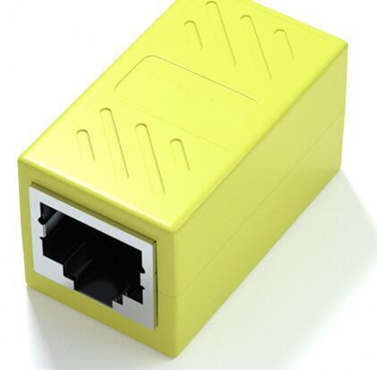 RJ45 LANケーブル用中継コネクタ 延長 メス-メス 贈物 LANケーブル 延長コネクタ ギガビット コンパクト 対応 アダプタ 2個セット 公式 コネクタ 8P8C LY-19A01