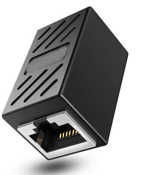 RJ45 LANケーブル用中継コネクタ 延長 メス-メス LANケーブル 延長コネクタ ギガビット 2個セット 売り出し コンパクト LY-19A01 アダプタ コネクタ 8P8C 激安通販ショッピング 対応