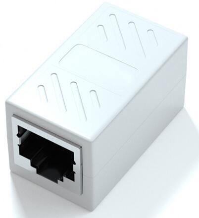 RJ45 大放出セール LANケーブル用中継コネクタ 延長 メス-メス LANケーブル 延長コネクタ ギガビット LY-19A01 2個セット アダプタ コネクタ 8P8C オンライン限定商品 対応 コンパクト