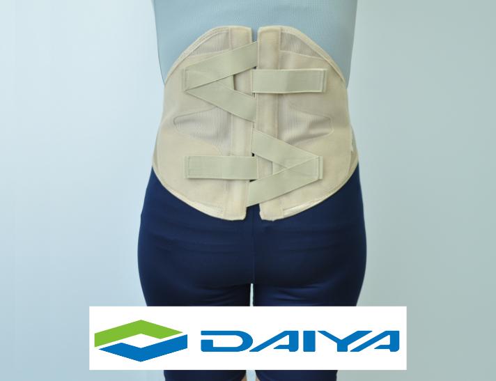 腰 コルセット サポーター 腰用 圧迫 テーピング バックインパクトαベージュ ダイヤ工業