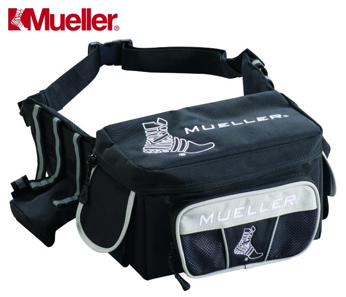 緊急時に即応するウエストバッグ 鞄 バッグ スポーツ時 運びやすい テーピング等 ウエストバッグ 緊急時 ヒーローユーティリティ ミューラー