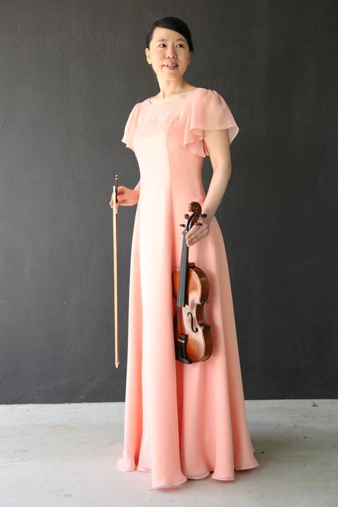 胸元ヨーク切替の袖付きフレアーロングドレス ※ご希望のカラーであなたのサイズに合わせて型紙一枚からお仕立てするスペシャルイージーオーダーメイド