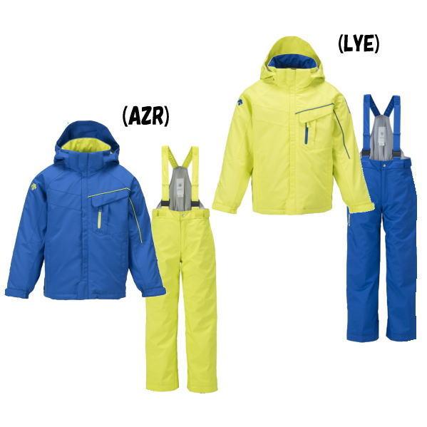 デサント(DESCENTE) キッズ スキーウェア 上下セット DJR-631KF スノーウェア 子供 のびのびパートナー ヒートナビ(djr-631kf)