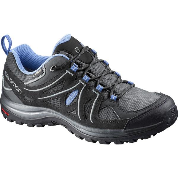 サロモン(SALOMON) トレッキング シューズ ハイキング 登山 靴 レディース ゴアテックス GORE-TEX (ELLIPSE 2 GTX Women) L38162900(l38162900)