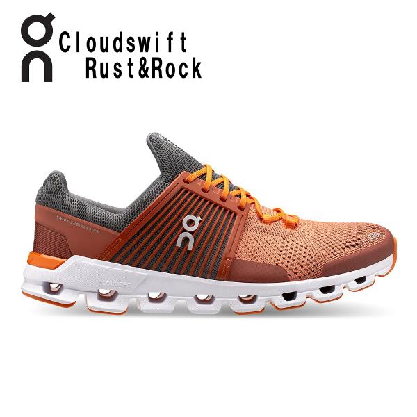 オン(On) Cloud swift Rust & Rock 3199945M メンズ クラウド スウィフト ランニングシューズ スイフト(3199945m)