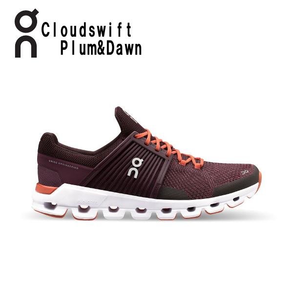 オン(On) Cloud swift Plum & Dawn 3199940W レディース クラウド スウィフト ランニングシューズ スイフト ウィメンズ(3199940w)