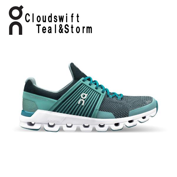 オン(On) Cloud swift Teal & Storm 3199942W レディース クラウド スウィフト ランニングシューズ スイフト ウィメンズ