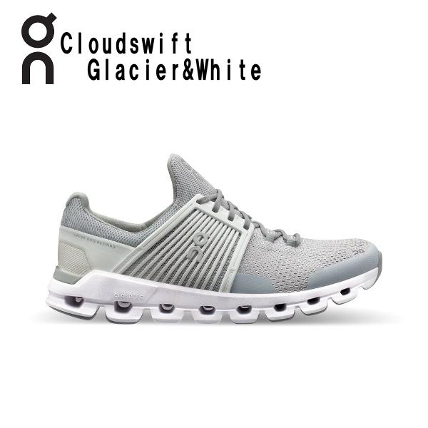 オン(On) Cloud swift Glacier & White 3199944W レディース クラウド スウィフト ランニングシューズ スイフト ウィメンズ