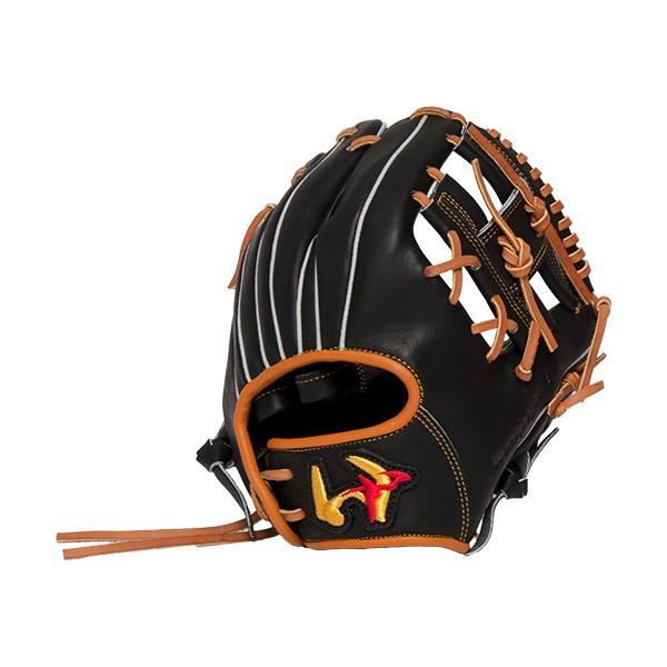 ワールドペガサス(Worldpegasus) 硬式 野球 グランドデビル WGKGDT9 90(ブラック) 右投用 LH グラブ トレーニング用 トクサンTVコラボ商品(wgkgdt9-90-lh)