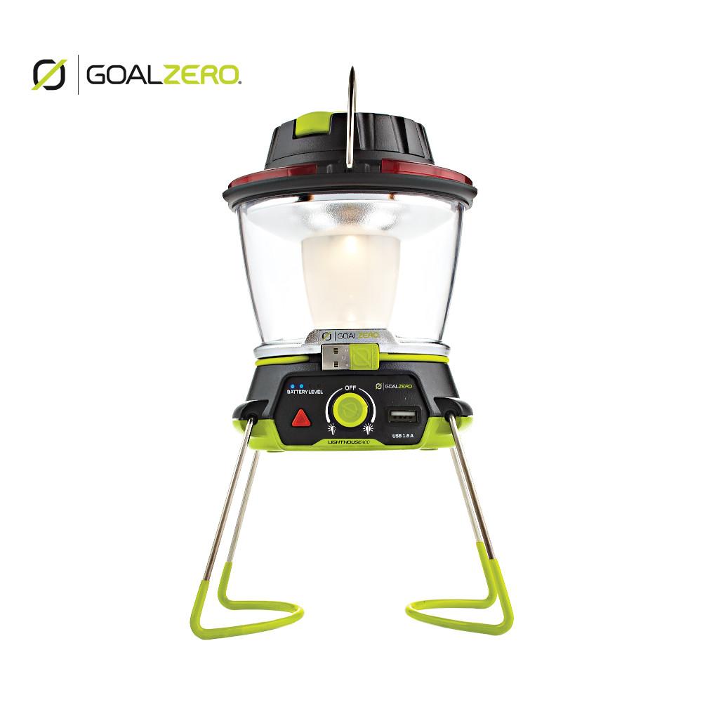 Goal Zero(ゴールゼロ) Lighthouse 400 32004 ライト LED ランタン キャンプ 登山 アウトドア モバイルバッテリー 手回し可(32004)