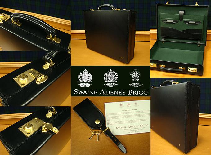 ブリッグ / BRIGG アタッシュケース 40FSスウェイン・アドニー・ブリッグ SWAINE ADENEY BRIGG