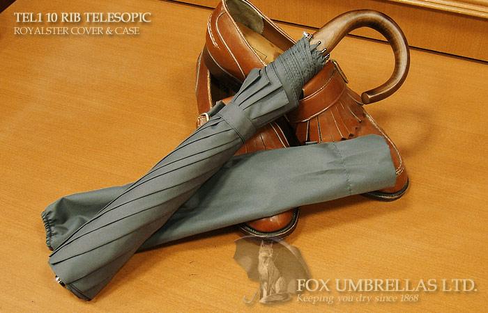 【 FOX UMBRELLAS / フォックス・アンブレラズ 】折りたたみ傘 ( メイプル / グレー )FX-TL1-MC-0003