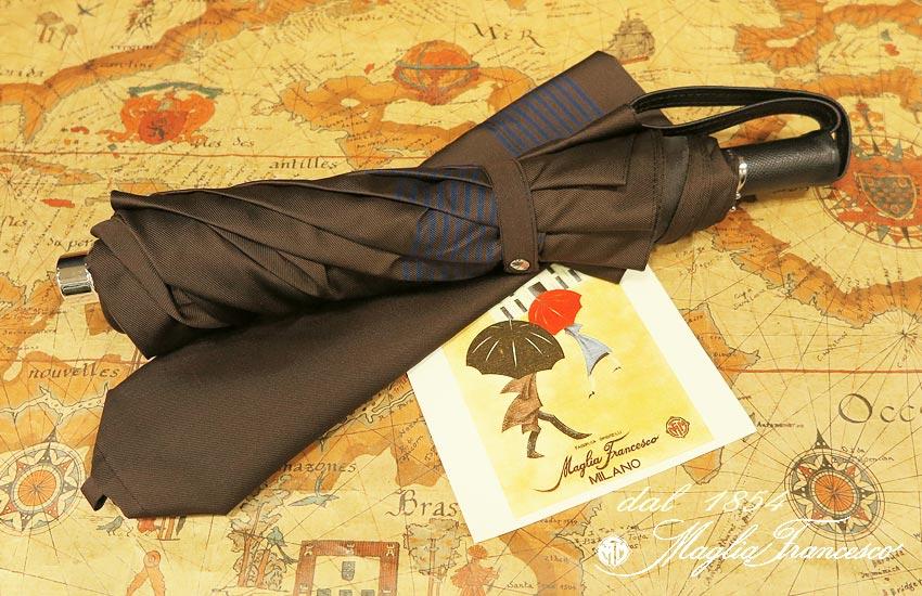 【 Maglia ( Francesco/ マリアフランチェスコ】】 ( 折りたたみ傘 maglia-042 ) ( ネイビーボーダー ) maglia-042, 夢大陸:7c3a8d7b --- sunward.msk.ru
