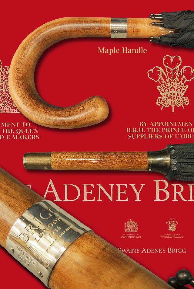 イギリス・スウェイン・アドニー・ブリッグ ( BRIGG ) MAPLE / メープル傘