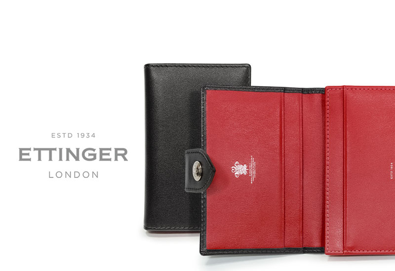 エッティンガー / ETTINGER ■●スターリング・レッドコレクション ビジティング・カードケース タブ付き★TAB( ST143JTAB) ( レザー/名刺入れ/カードホルダー/メンズ ) STERLING RED