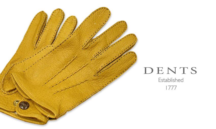 [デンツ社公認販売店]DENTS 手袋 / デンツ手袋 PECCARY / ペッカリー ( 猪豚革 ) [ CORK / コルク / コーク ] 15-1043 CORK