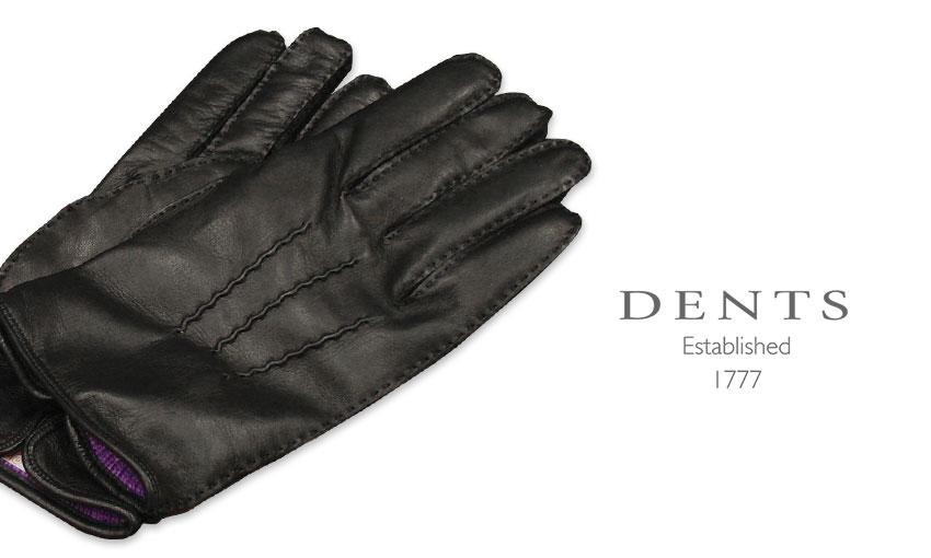 [デンツ社公認販売店]DENTS 手袋 / デンツ手袋 HAIR SHEEP / ヘアシープ ( 羊革 ) [ ブラック / BLACK ] 15-1535 / B/P