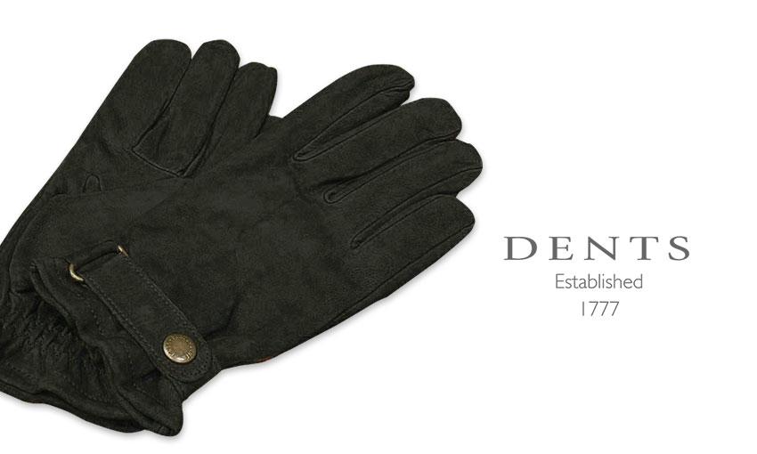[デンツ社公認販売店]DENTS 手袋 / デンツ手袋 LAMB LEATHER / ラムレザー ( 羊革 ) [ ブラック ] 5-1619B