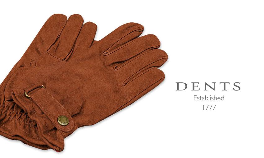 [デンツ社公認販売店]DENTS 手袋 / デンツ手袋 LAMB LEATHER / ラムレザー ( 羊革 ) [ ライトブラウン ] 5-1619CO
