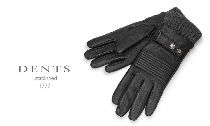 DENTS デンツ 手袋 グローブ メンズ レザー 革 ■TRAD SALE 毎日がバーゲンセール デンツ社公認販売店 新登場 ブラック BLACK HAIR SHEEP ヘアシープ デンツ手袋 羊革 5-9300