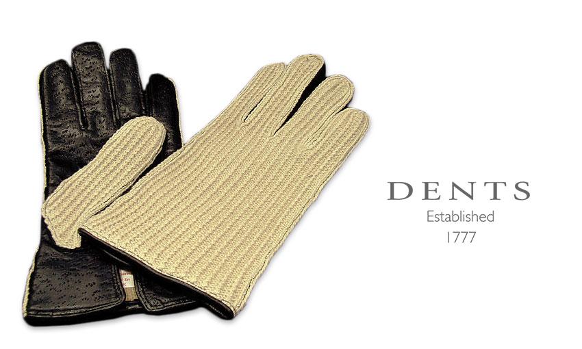 [デンツ社公認販売店]DENTS 手袋 / デンツ手袋 ( LADY'S ) IMITATION PECCARY [ ブラック ] 7-1008B