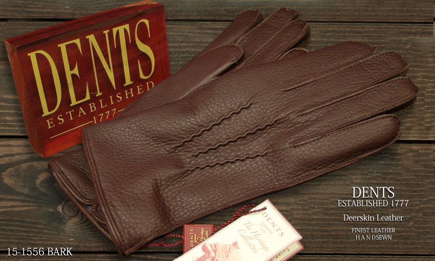 DENTS手袋 / デンツ手袋 DEERSKIN / ディアスキン ( 鹿革 ) 15-1556 / BARK