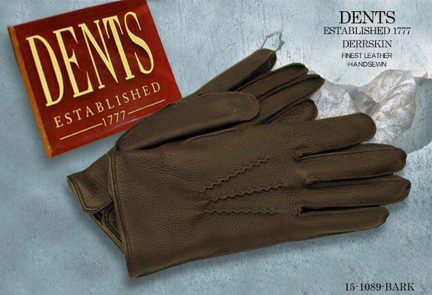 DENTS手袋 / デンツ手袋 DEERSKIN / ディアスキン ( 鹿革 ) 15-1089 / BARK